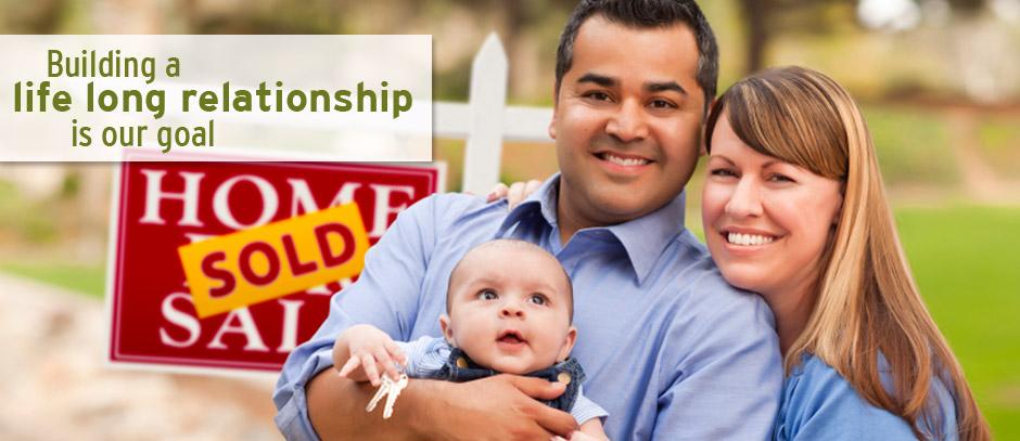Happy Couple buying Homes